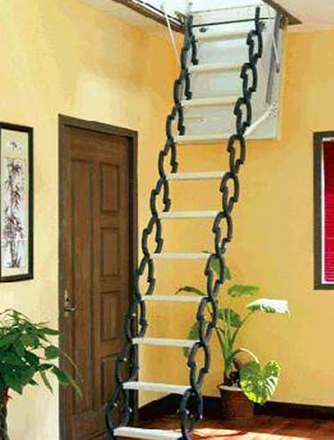 电动阁楼伸缩楼梯