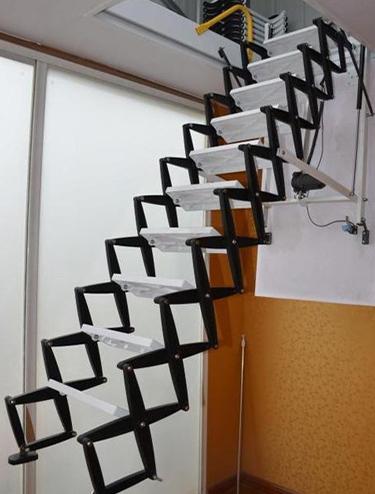 阁楼电动伸缩楼梯
