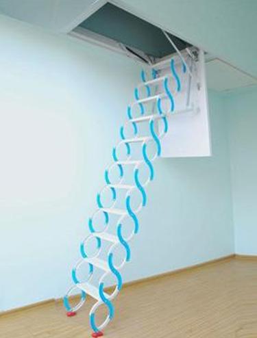 阁楼隐藏伸缩楼梯