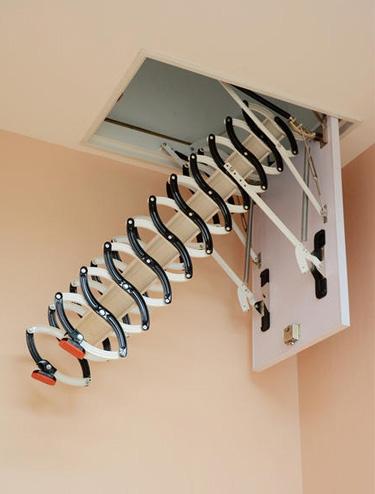 小户型电动伸拉梯