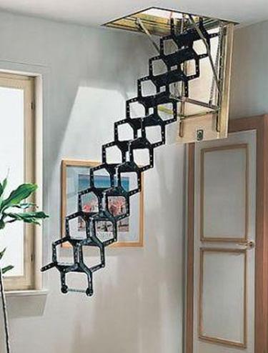 家用阁楼伸缩楼梯