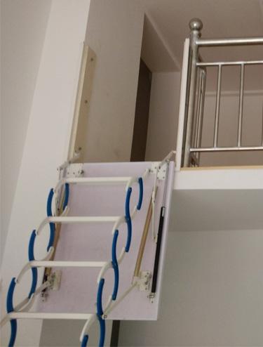 家用侧装伸缩楼梯