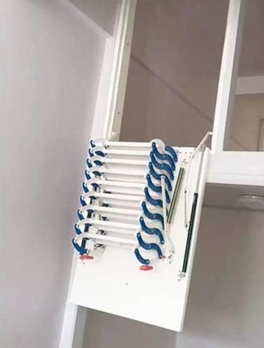 半自动侧装伸缩楼梯