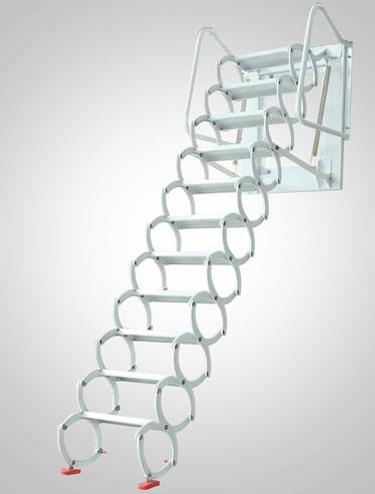 室内壁挂伸缩楼梯