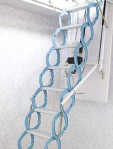 半自动阁楼伸缩楼梯