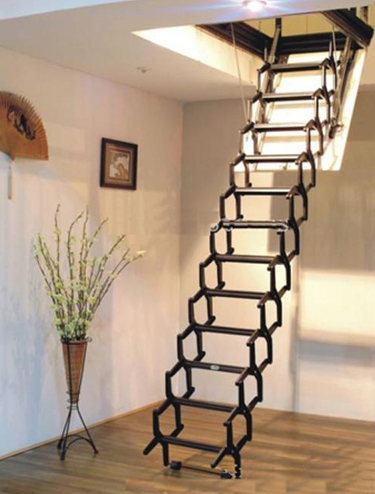 伸缩电动楼梯