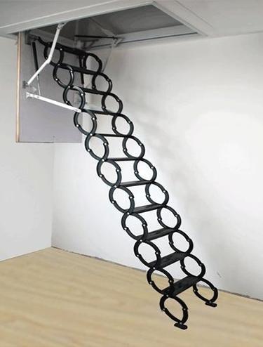 电动伸缩楼梯的遥控器失灵怎么办?